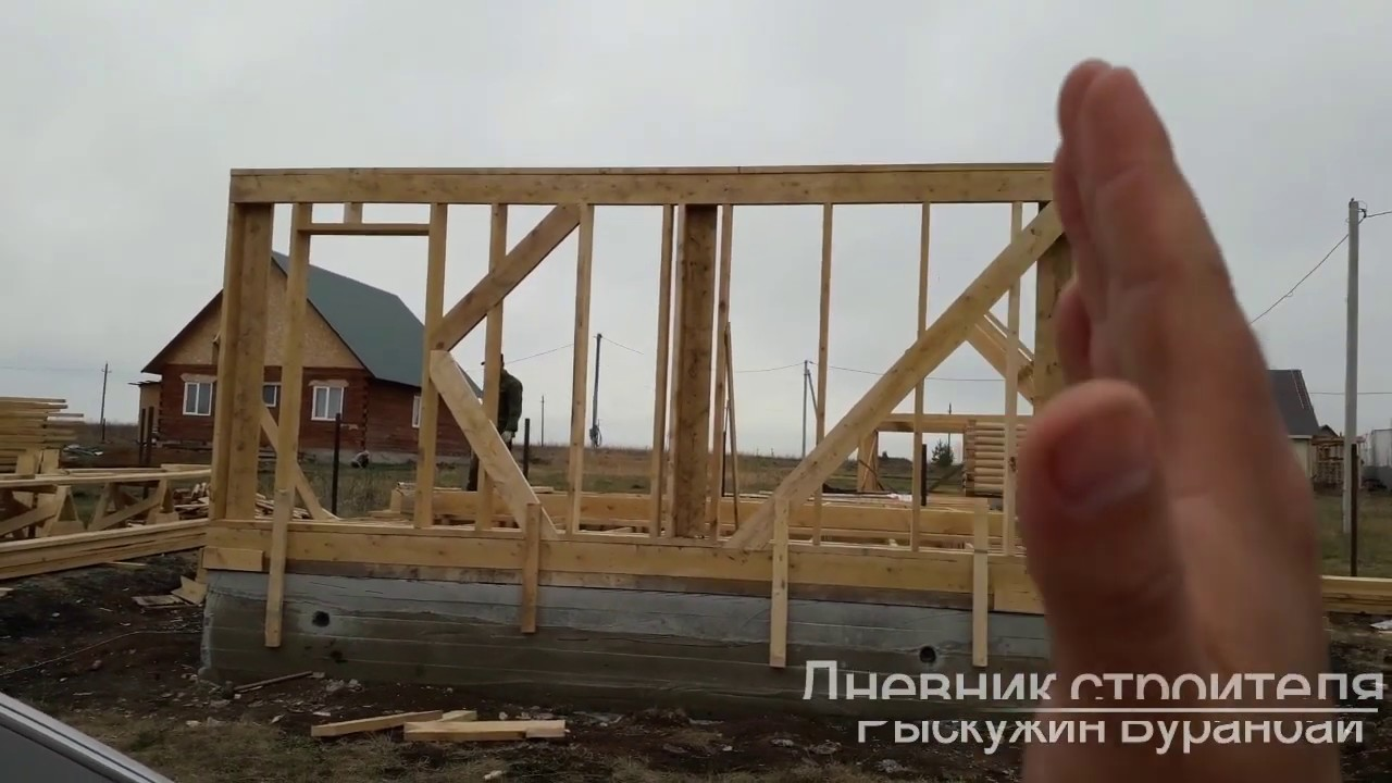 Строительство каркасного дома своими руками: технология строительства и пошаговая инструкция