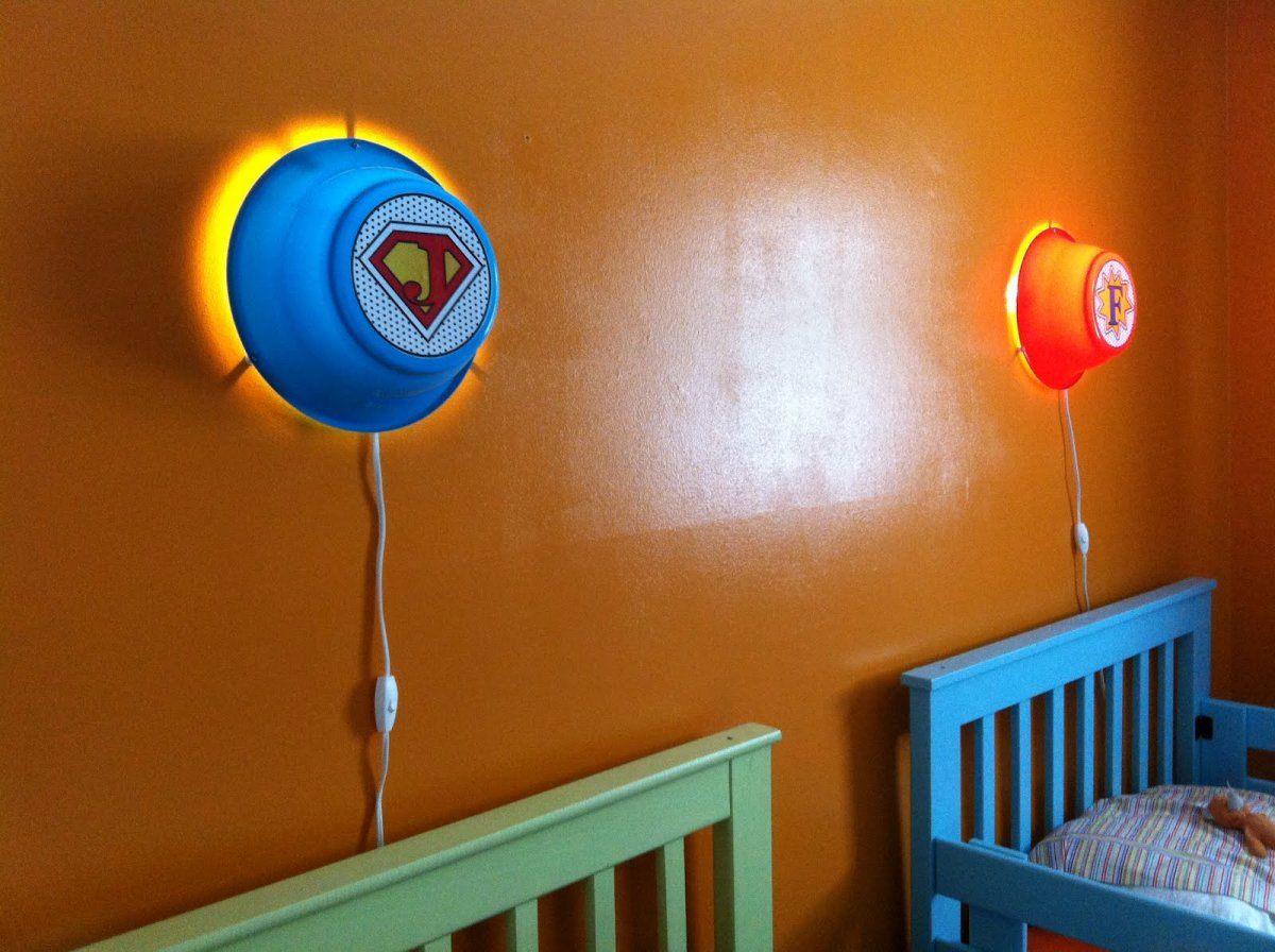 Выбор ночника в детскую комнату