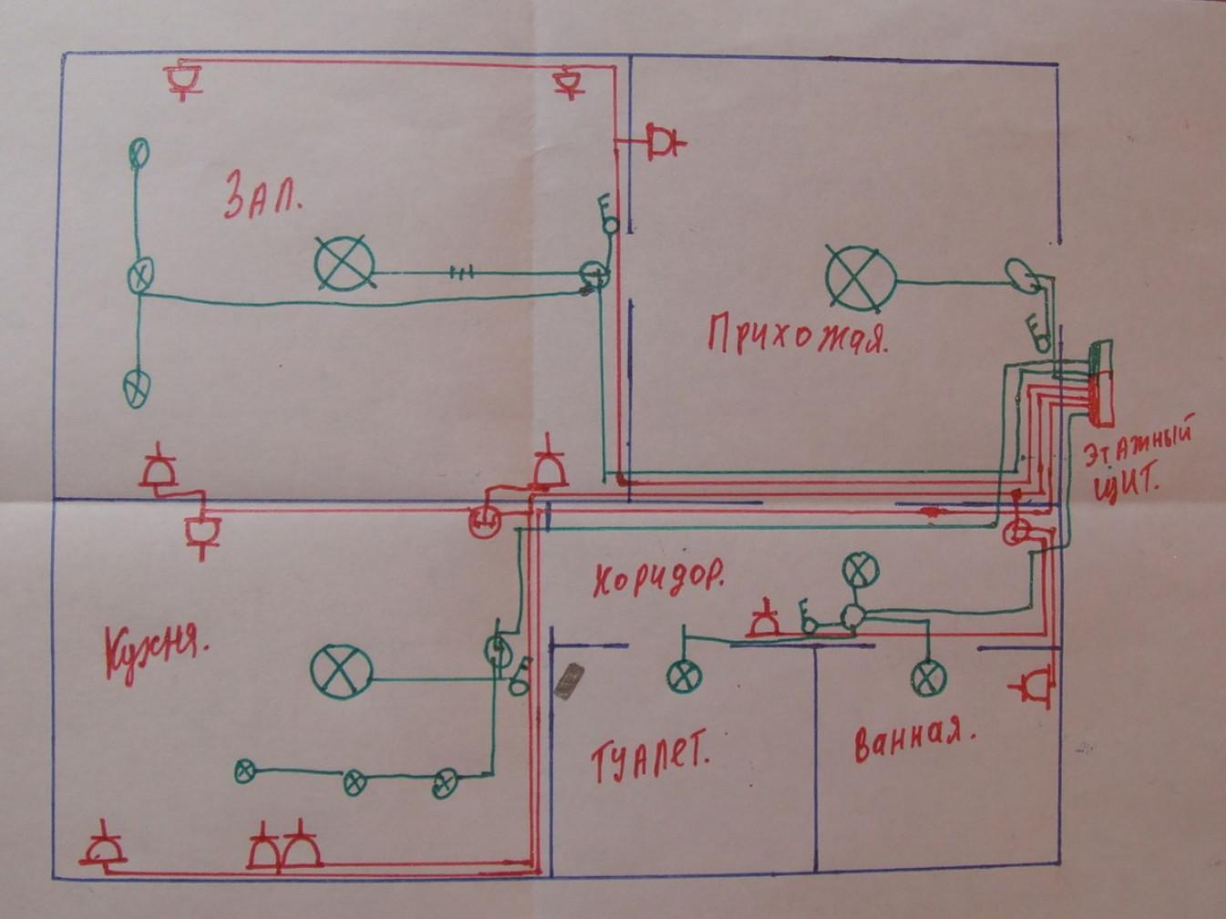 Как поменять электропроводку в квартире своими руками