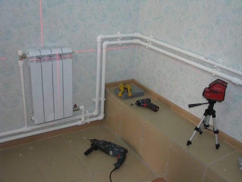 Установка отопления частного дома с помощью пластиковых труб: параметры выбора, характеристики и способы монтажа системы