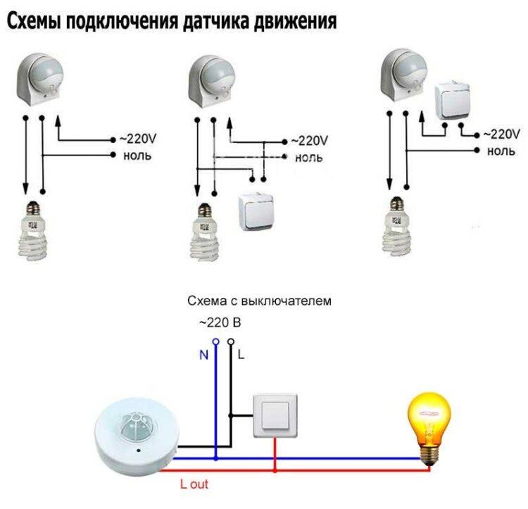 Какой датчик движения для включения света лучше выбрать для улицы