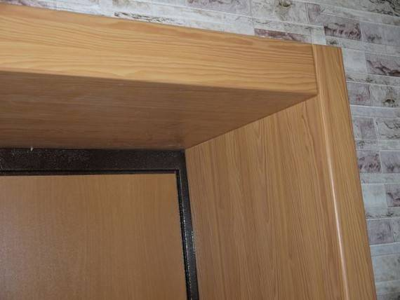 Делаем откосы на двери из МДФ, ламинированного ДСП, ламината
