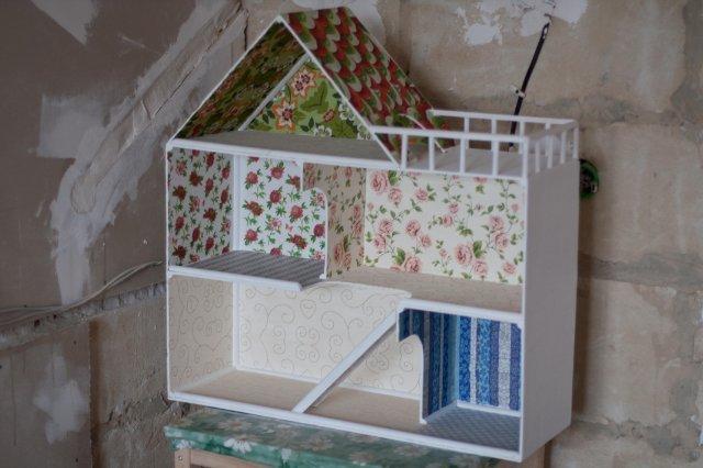 Кукольный домик своими руками