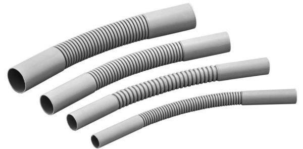 Гофрированная труба для прокладки кабелей и проводов