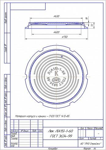 На какие параметры ориентироваться при выборе люка для смотрового колодца