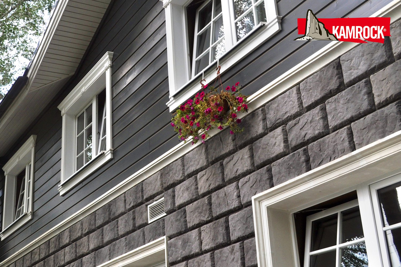 Варианты отделки фасадов домов современными материалами