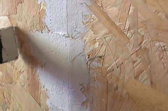 Фасадная краска для наружных работ по ОСБ