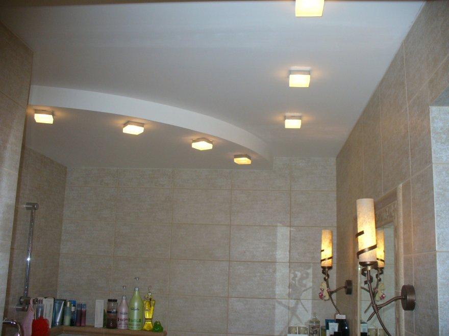 Как сделать освещение в ванной комнате — варианты и светильники