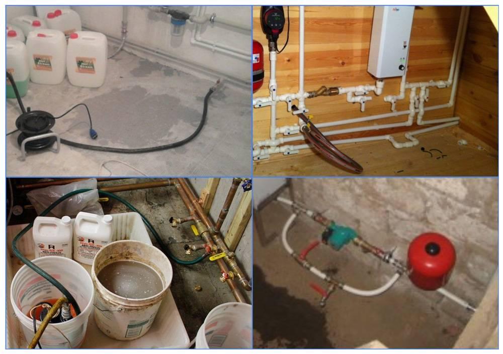 Заполнение системы отопления водой в частных домах
