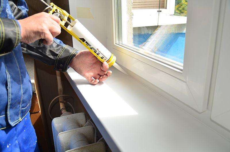 Как поменять подоконник на окне своими руками