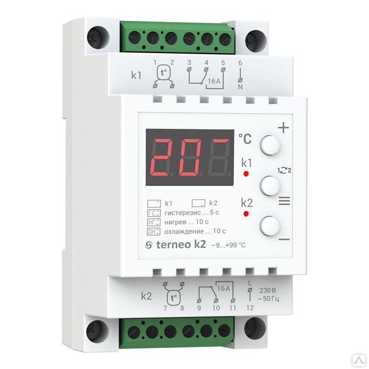 Принцип работы и функционал температурных реле с датчиком температуры
