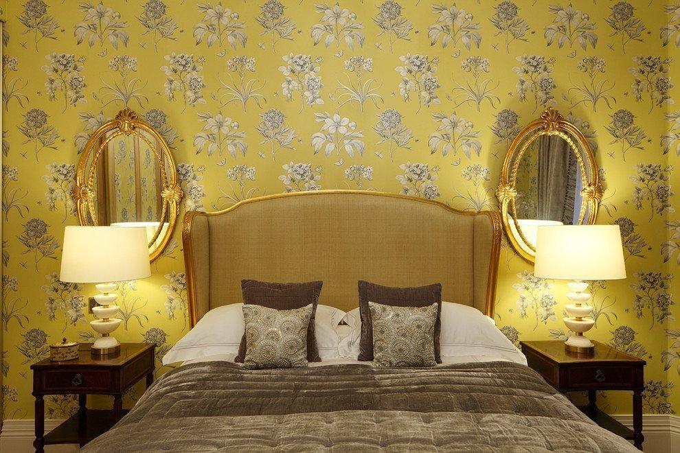Какие обои выбрать в спальню: рекомендации, какой лучше подобрать цвет и материал обоев
