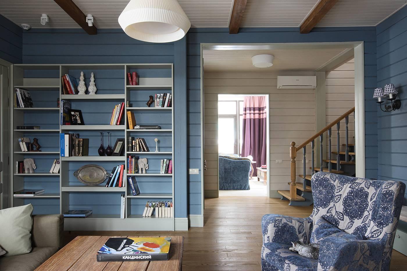 Лучшие варианты покраски вагонки внутри дома