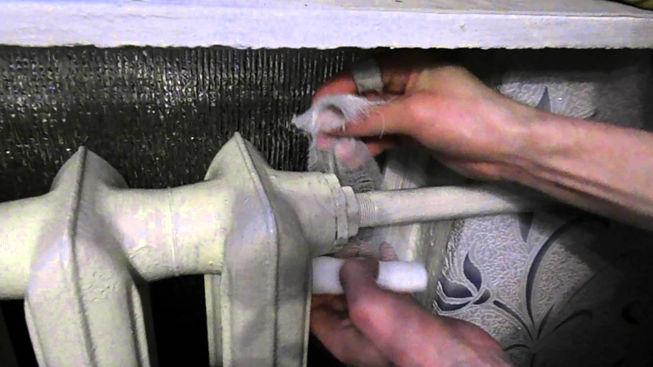 Как заделать свищ в трубе с водой под давлением