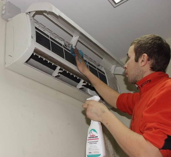 Чистка кондиционера своими руками: процесс очистки домашнего кондиционера, рекомендации по эксплуатации