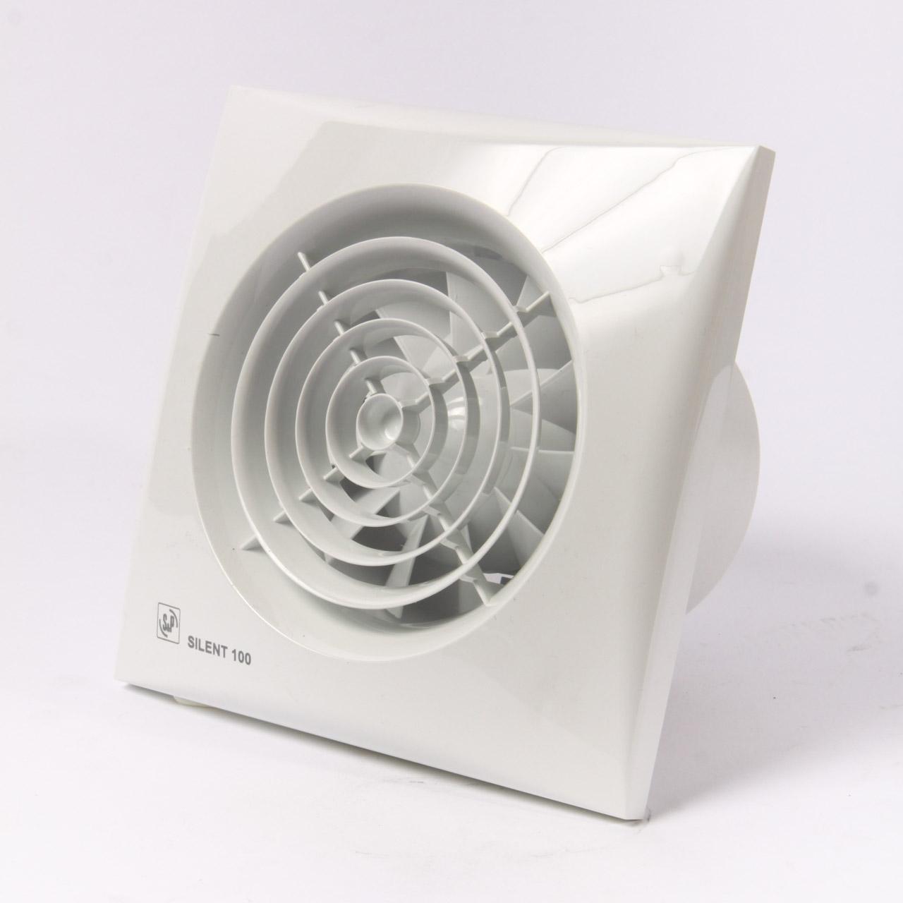Вытяжной вентилятор с таймером для санузла