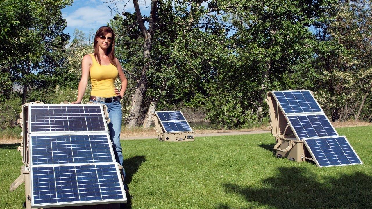 Солнечные панели (батареи) для дома
