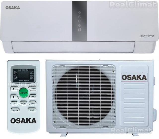 Обзор кондиционеров OSAKA: коды ошибок, сравнение характеристик моделей