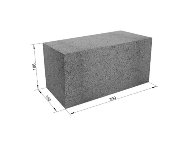 Технические характеристики бетонных блоков под фундамент