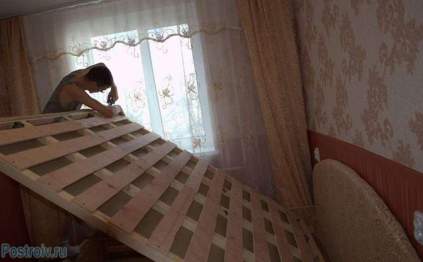 Как сделать кровать своими руками: делаем кровать в домашних условиях, изучив чертежи и инструкции