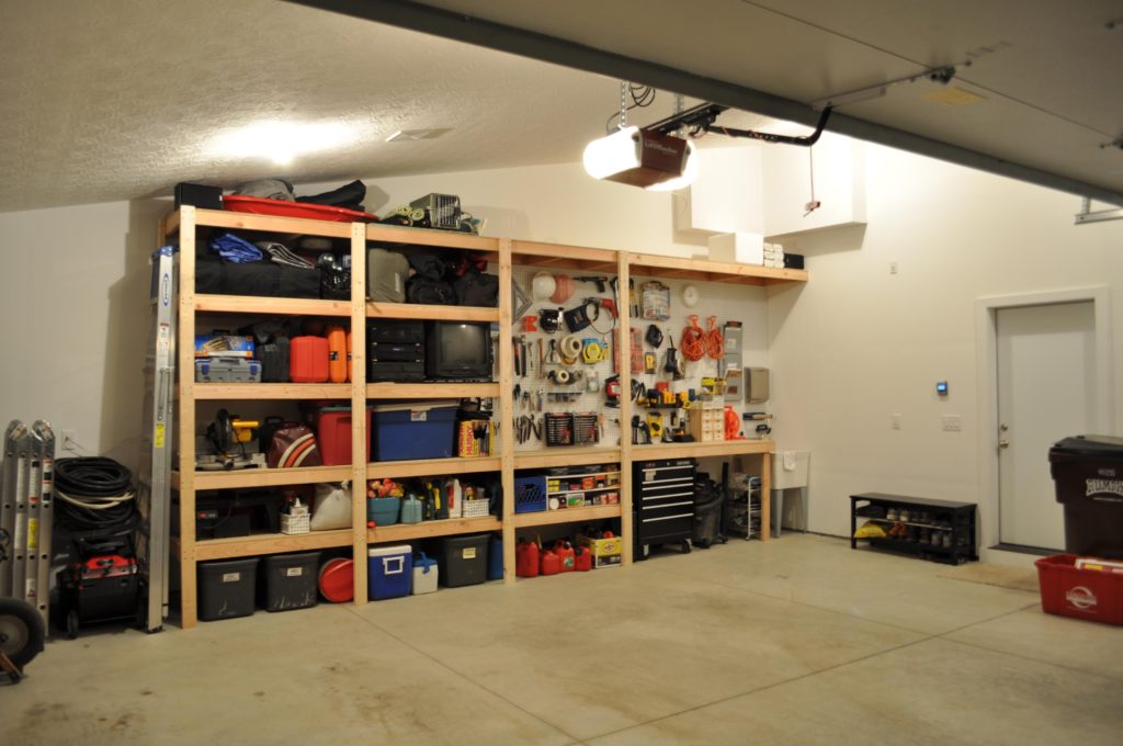 Идеи самостоятельного обустройства гаража внутри