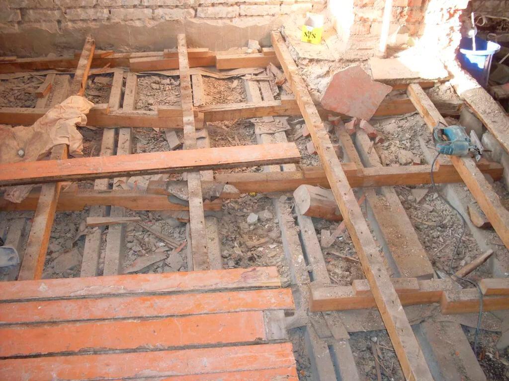 Ремонт деревянных полов в хрущевке своими руками