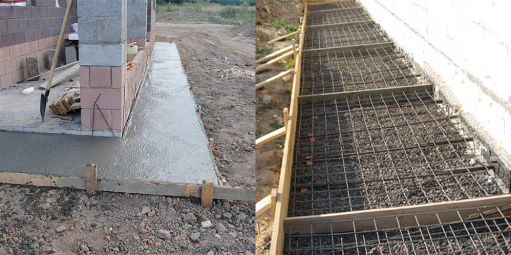 Технология бетонирования отмостки вокруг дома
