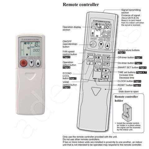 Обзор кондиционеров mitsubishi и инструкции по эксплуатации к пультам