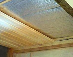 Как сделать подшивной потолок для бани своими руками
