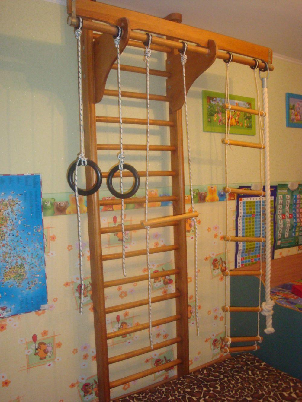 Спортивный уголок для детей в квартиру, дом