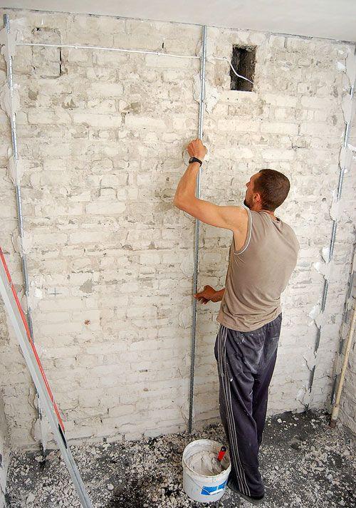 Как выровнять стены в квартире своими руками: материалы и инструменты для работы в квартире самому