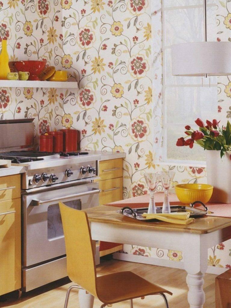 Кухонные обои. Как выбрать лучшее