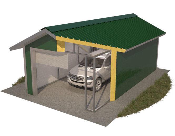 Как сделать гараж из сэндвич панелей: как самому сделать гараж с описанием пошаговых действий