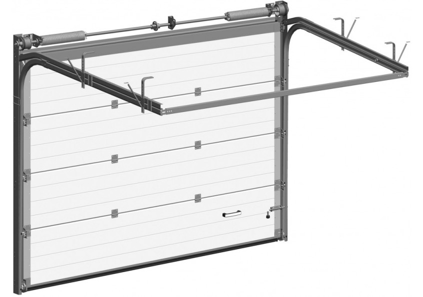 Секционные ворота для гаража: как выбрать