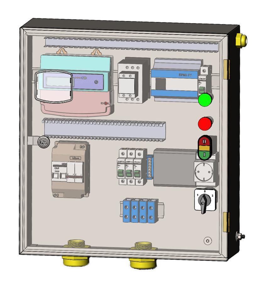 Конструкция и особенности эксплуатации щитков освещения