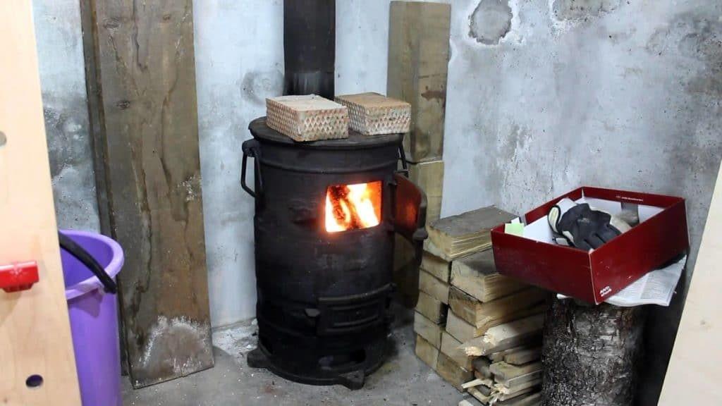 Принцип работы и изготовление печи буржуйки для дачного дома