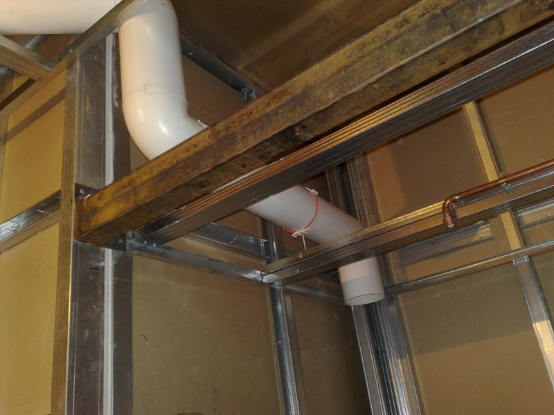 Вентиляция душевых кабин и помещений