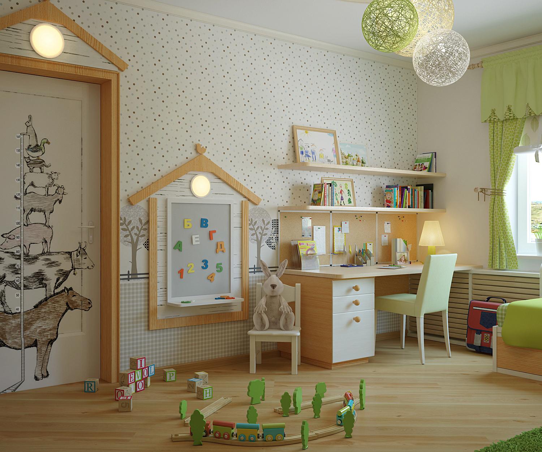 Разрабатываем дизайн детской комнаты самостоятельно