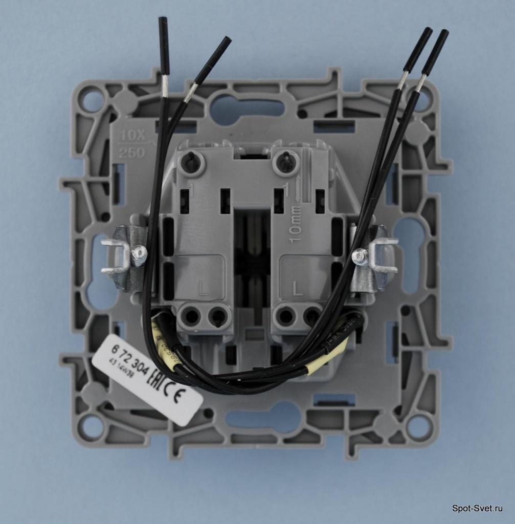Подключение выключателей Legrand — схема