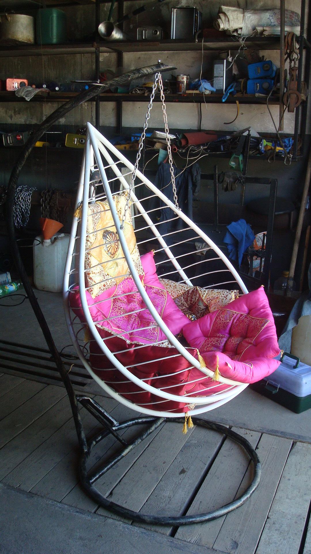 Как сделать качели-кокон для дачи своими руками пошаговая инструкция