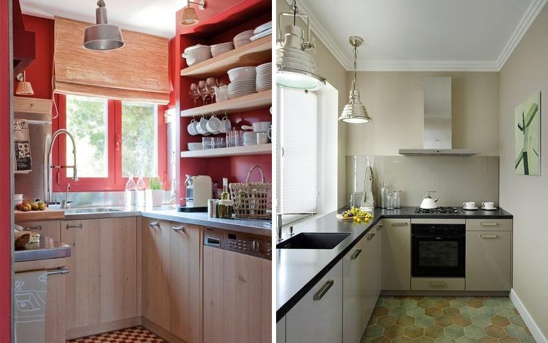 Дизайн кухни в хрущевке: дизайнерские проекты с фото примерами