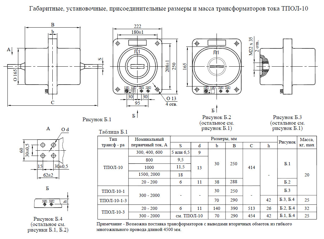 Назначение, устройство и принцип действия трансформаторов тока