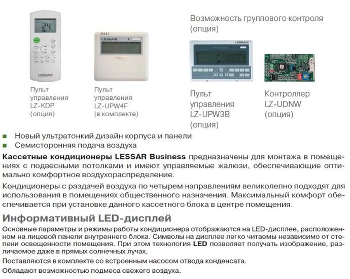 Кондиционеры кассетного типа: монтаж, цены, инструкции