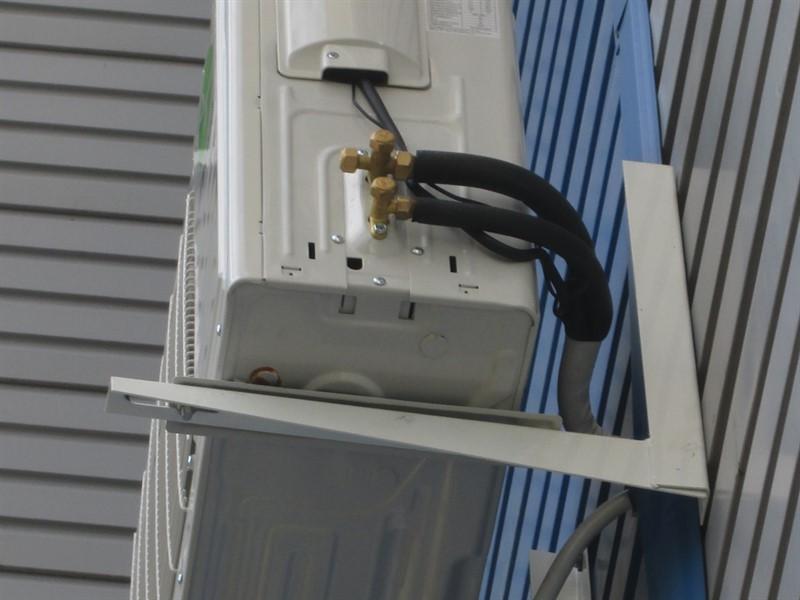 Покупка кронштейнов для крепления кондиционера, его компрессора