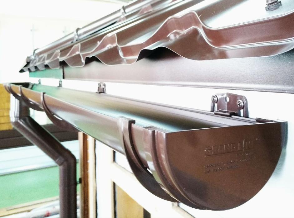 Обзор металлической водосточной системы Гранд Лайн