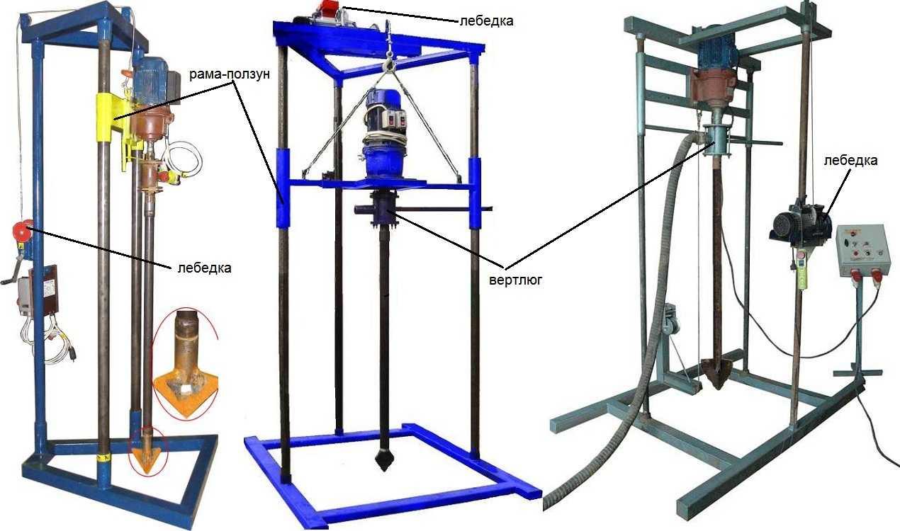 Как самостоятельно изготовить буровую установку для скважин на воду