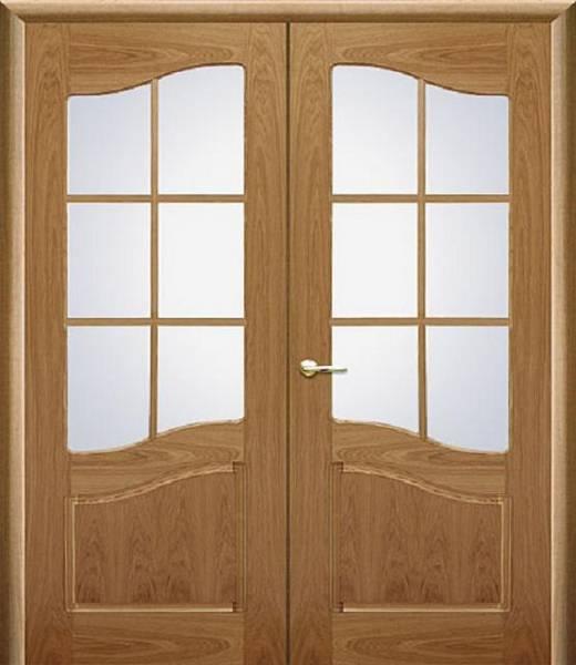 Двустворчатые распашные межкомнатные двери — за и против