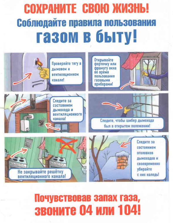 Основные правила безопасной эксплуатации газового оборудования