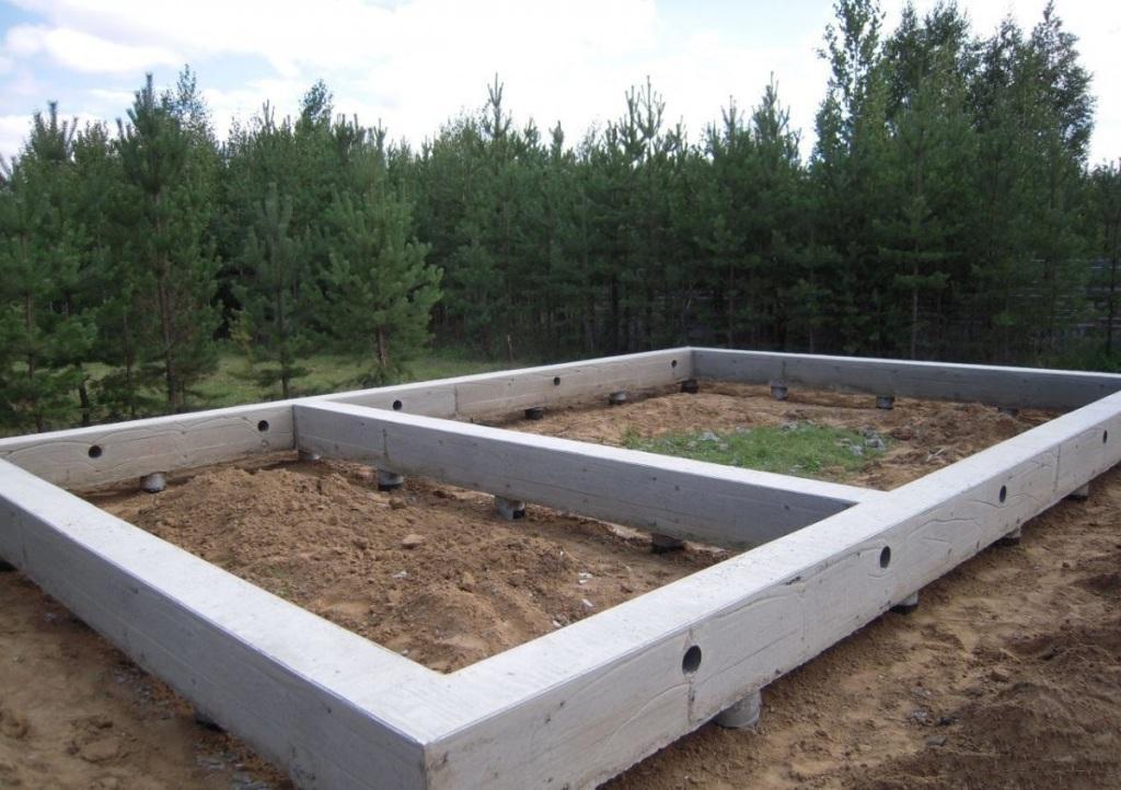 Ленточный фундамент для дачного дома своими руками