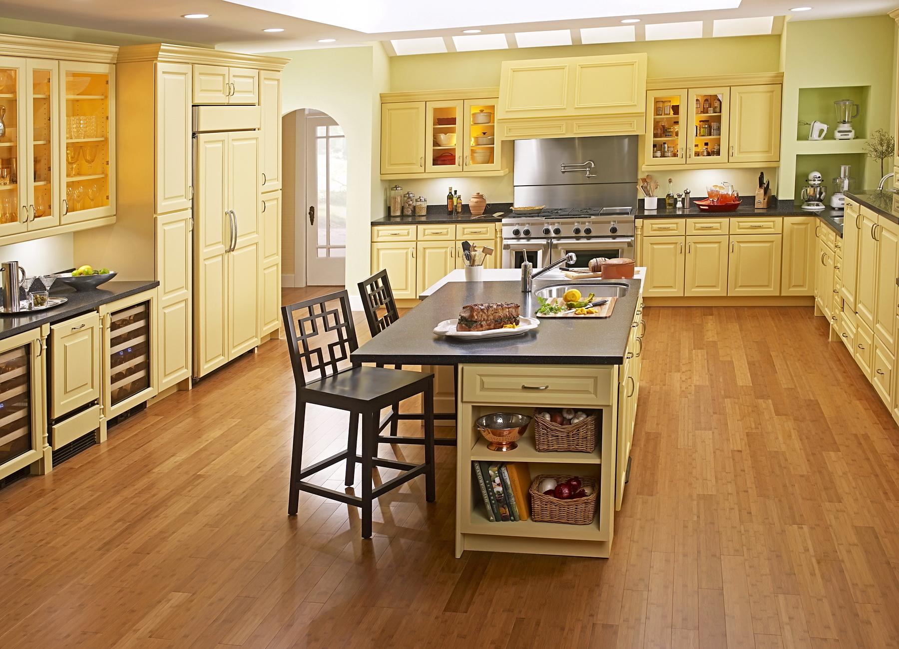 Покрытие для пола на кухне